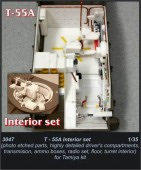 CMK3047 T-55A - interior set for TAM