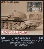 CMK3046 T-55A - engine set for TAM