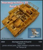 CMK3024 Stug III - interior set for TAM