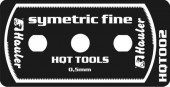 HQT002 stainless razor saw symetric fine