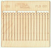 PL3-001 Decorative European wooden fence