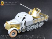 BPL35013 1/35 WW II German Sd.Kfz.7/2 3.7cm Flak37 ( Armour Driver's Cab Version ) Premium Edition