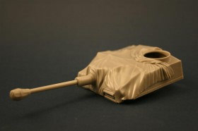 RE35-090 StuG III G Upper hull/barrel with Canvas Cover