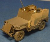 VMT35009 Armoured Jeep with SCR-193 U.S. WWII  radio set