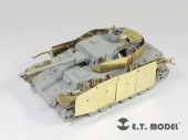 E35-086 WWII German Pz.Kpfw.IV Ausf.G Apr-May 1943 Production Schurzen For DRAGON Smart Kit