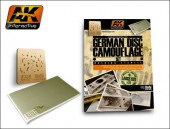 AK 157 GERMAN CAMO DISC 1/35th scale