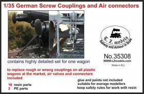 LZ35308 German wagon couplings