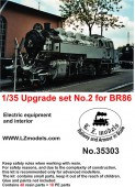 LZ35303 Upgrade set No.2 for BR86 locomotive