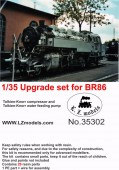 LZ35302 Upgrade set for BR86 locomotive
