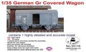 LZ35116 German Gr Covered Wagon
