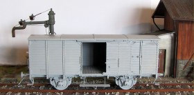 LZ35112 German G10 covered wagon