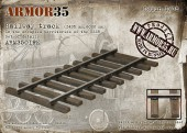 ARM35019 К Railway track (1435 mm,6000 mm)-Set of details