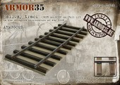 ARM35025 Railway track (1435 mm,6000 mm) Full Kit