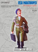 CR-54012 USSR PARATROOPER / Demobilized soldier 1979-1989 / + Base