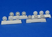 RE35-125  Steel return rollers for StuG III (Pattern A)