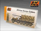 AK 550 Afrika Korps Color Set