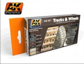 AK 557 Track And Wheels Set