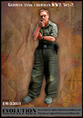 EM-35071 German tank crewman - WW2. Set-2