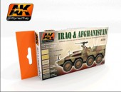 AK 558 IRAQ AND AFGHANISTAN ACRILIC SET