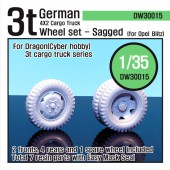 DW30015 WW2 German 3t Cargo truck Wheel set (for Dragon 1/35)