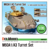 DM35001 M60A1/A3 Turret set (for Tamiya/Academy/Italeri 1/35)