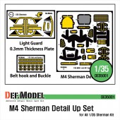 DE35001 M4 Sherman PE detail up set