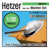 DM35012 Hetzer Late type Mantlet set (for Academy 1/35)