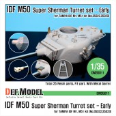DM35011 IDF M50 Super Sherman Turret Conversion set (for Tamiya 1/35)