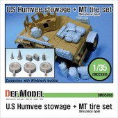 DM35008 M1151 HMMWV Stowage & MT Tire set (for Academy 1/35)