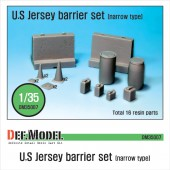 DM35007 US Jersey Barrier set (Small type)