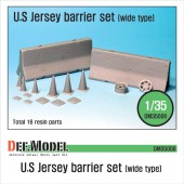 DM35006 US Jersey Barrier set (Wide type)