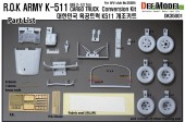 DK35001 K511 'ROK ARMY' Truck Conversion set (for AFV Club 1/35 M35A2)