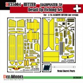 DE35004 Hetzer Detail Up set (for Academy 1/35)