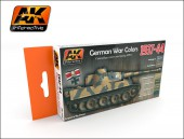 AK 560 1937-1944 GERMAN COLOR SET