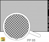 PP05 Engrave plate (88 x 57mm) - pattern 05