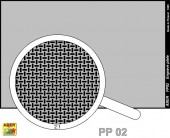 PP02 Engrave plate (88 x 57mm) - pattern 02