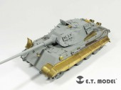 EA35-027 WWII German King Tiger/Jagdtiger Fender & Side Skirts