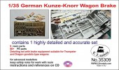 LZ35309 German Kunze-Knorr Wagon Brake