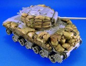 LF1117 Sherman M4A3 sandbag Armor set №2