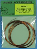 EWS-02 Fine copper wires 0.20 mm / 0.22 mm / 0.25 mm