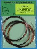 EWS-04 Fine copper wires 0.35 mm / 0.38 mm / 0.40 mm