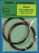 EWS-05 Fine copper wires 0.45 mm / 0.50 mm