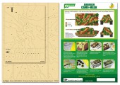 PPA5008 Airbrush CAMO-MASK for 1/35 King Tiger (Henschel Turret) Camouflage Scheme 2