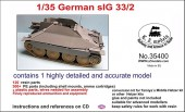 LZ35400 German sIG 33/2 conversion set for Hetzer
