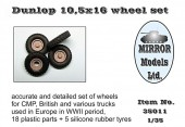 MM35011 Dunlop 10,5x16 wheel set (Пластик/резина)