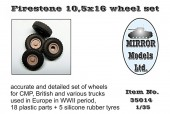 MM35014 Firestone 10,5x16 wheel set (Пластик/резина)