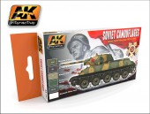 AK 561 SOVIET CAMOUFLAGES COLOR SET