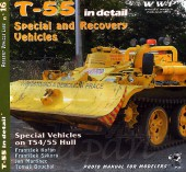 WWP016 green T-55 Special  & Recovery Vehicles in detail