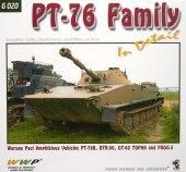 WWP020 green PT-76 Family  in detail
