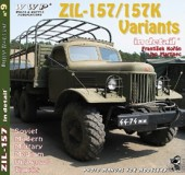 WWP009 green ZiL-157 Variants in detail